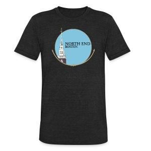 North End Boston - Unisex Tri-Blend T-Shirt