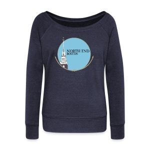 North End Boston - Women's Wideneck Sweatshirt