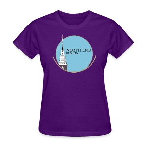 North End Boston - Women's T-Shirt