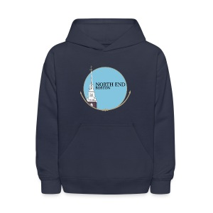 North End Boston - Kids' Hoodie