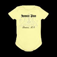 Baby & Toddler Shirts ~ Baby Short Sleeve One Piece ~ Jamaica Plain Boston