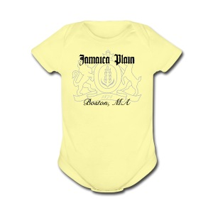 Jamaica Plain Boston - Short Sleeve Baby Bodysuit