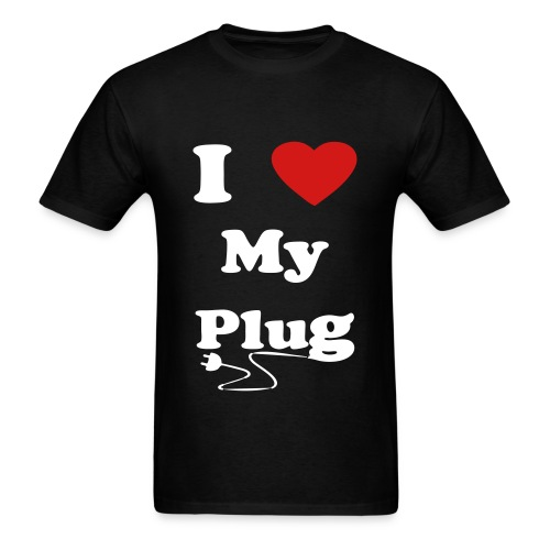 i love my plug official tee - Men's T-Shirt