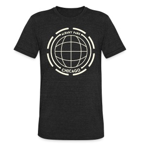 Albany Park Chicago - Unisex Tri-Blend T-Shirt by American Apparel