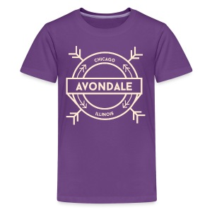 Avondale Chicago - Kids' Premium T-Shirt