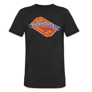 Andersonville Chicago - Unisex Tri-Blend T-Shirt by American Apparel