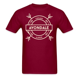Avondale Chicago - Men's T-Shirt