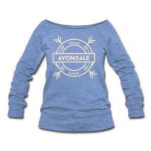 Avondale Chicago - Women's Wideneck Sweatshirt