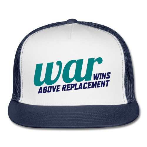 WAR (Wins Above Replacement) - Trucker Cap
