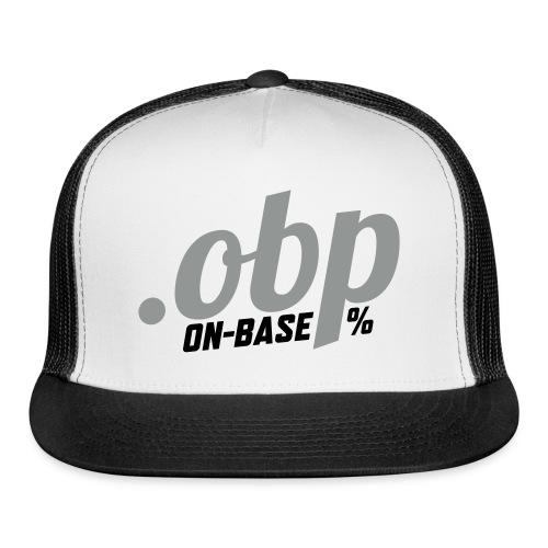 .OBP (On-Base Percentage) - Trucker Cap
