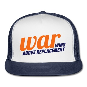 WAR (Wins Above Replacement) - Trucker Cap