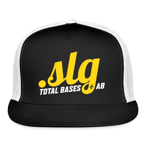 .SLG (Total Bases / At Bats) - Trucker Cap