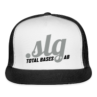 Sportswear ~ Trucker Cap ~ .SLG (Total Bases / At Bats)
