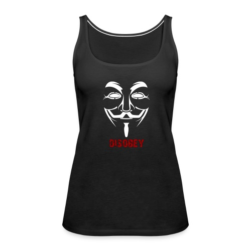 Anonymous Disobey Red - WOMEN - Women's Premium Tank Top