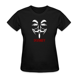 Anonymous Disobey Red - WOMEN - Women's T-Shirt