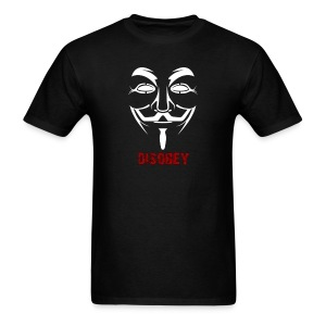 Anonymous Disobey Red - MEN - Men's T-Shirt