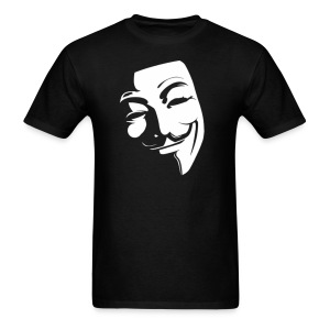 Anonymous Face Black White - MEN - Men's T-Shirt