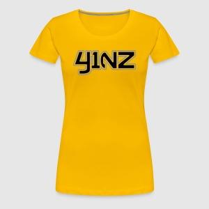 412 Yinz Remix  - Women's Premium T-Shirt