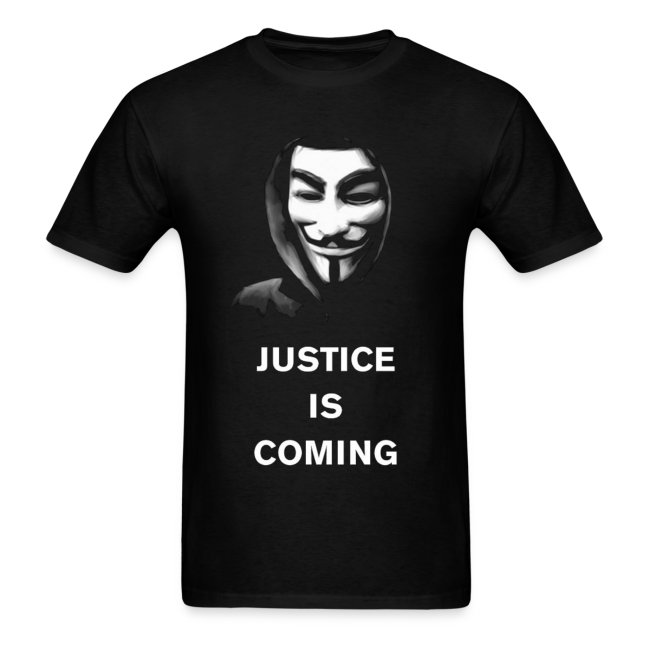 Anonymous - Justice Is Coming - MEN