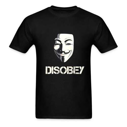 Disobey Anonymous - MEN - Men's T-Shirt