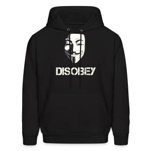 Disobey Anonymous - MEN - Men's Hoodie