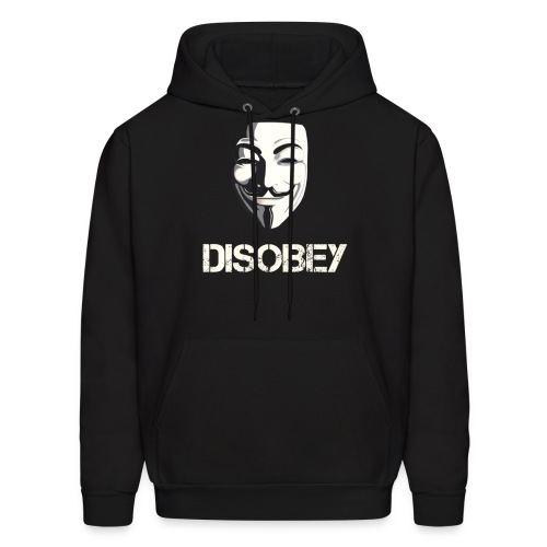 Disobey Anonymous - MEN - Men's Hoodie