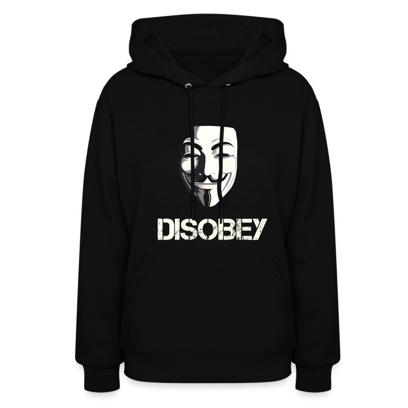 Disobey Anonymous - WOMEN - Women's Hoodie