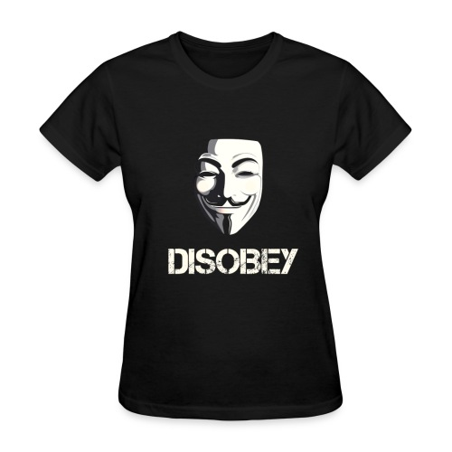 Disobey Anonymous - WOMEN - Women's T-Shirt