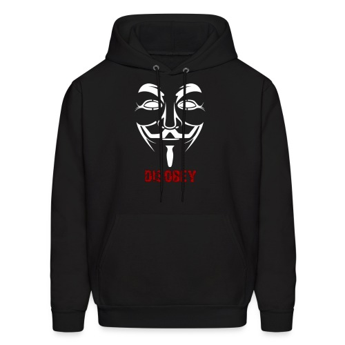 Anonymous Disobey Red - MEN - Men's Hoodie