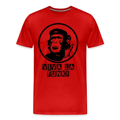 VIVA LA FUNK Mens Ter-Shirt (Red) - Men's Premium T-Shirt