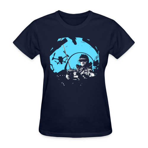 Girls QuadCockpit - Women's T-Shirt