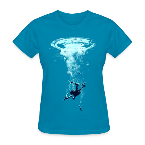Girls Sunk - Women's T-Shirt
