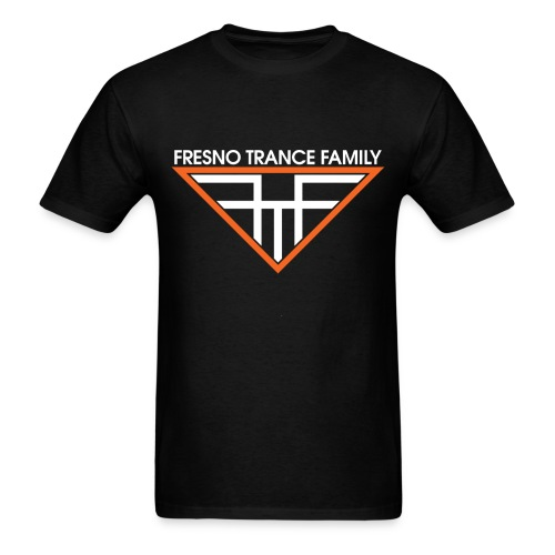Men's Black FTF Logo - Men's T-Shirt