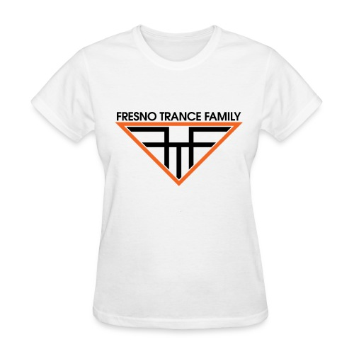 Women's White FTF Logo - Women's T-Shirt