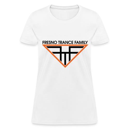 Women's White FTF Logo - Women's T-Shirt