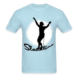 Slack line and sun - Men's T-Shirt