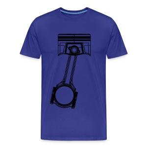 Piston Black Mens Shirt - Men's Premium T-Shirt