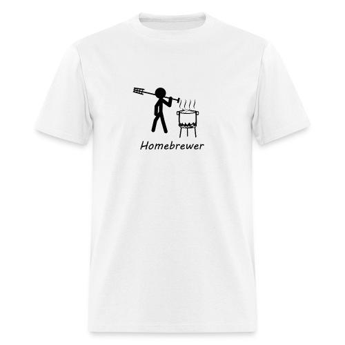homebrewer bw - Men's T-Shirt