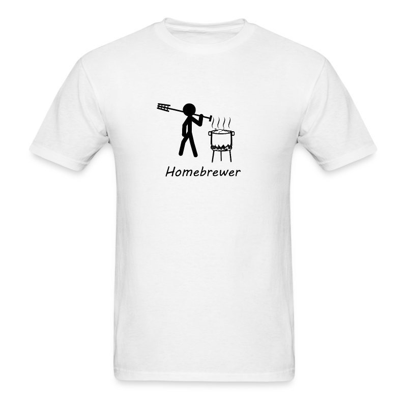 homebrewer bw - Men's T-Shirt