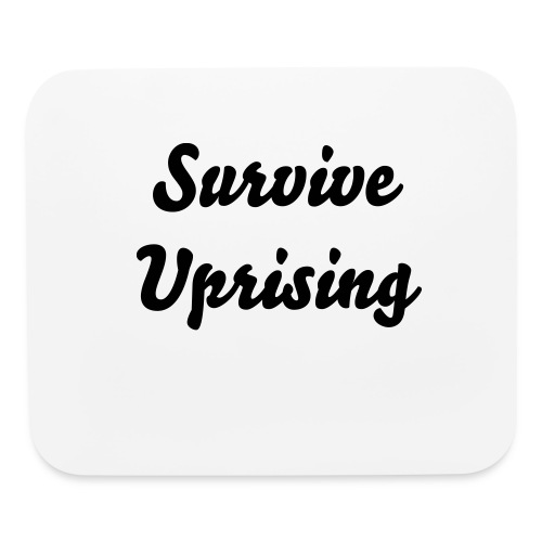 Survive Uprising Mouse pad - Mouse pad Horizontal