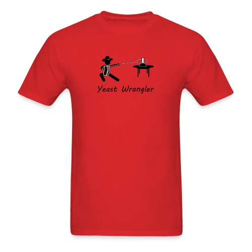 yeast wrangler  - Men's T-Shirt