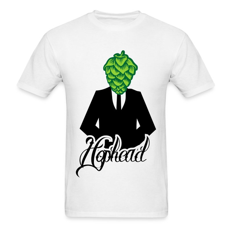 headcone_greenfinal - Men's T-Shirt