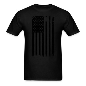 Black and White Flag - Men's T-Shirt