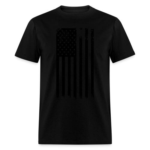 Black and White Flag - Men's T-Shirt