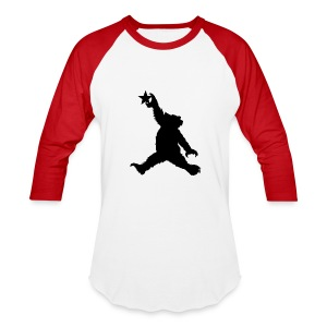 Cali Black Bear Raglan - Baseball T-Shirt
