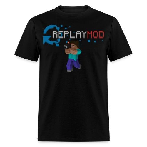 Replay Mod Steve   Men's T-Shirt - Men's T-Shirt