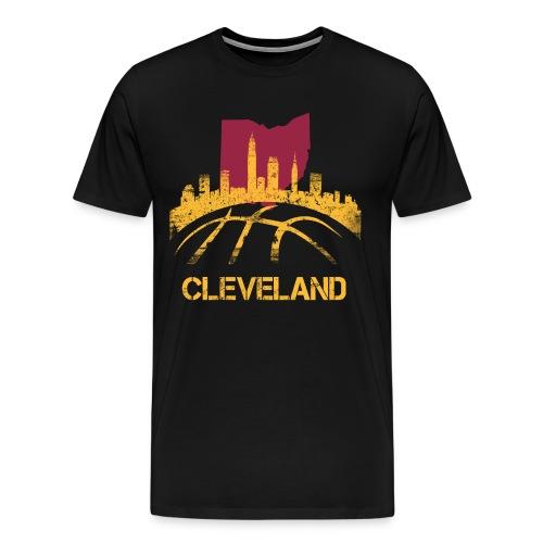 CLE BBall tee - Men's Premium T-Shirt