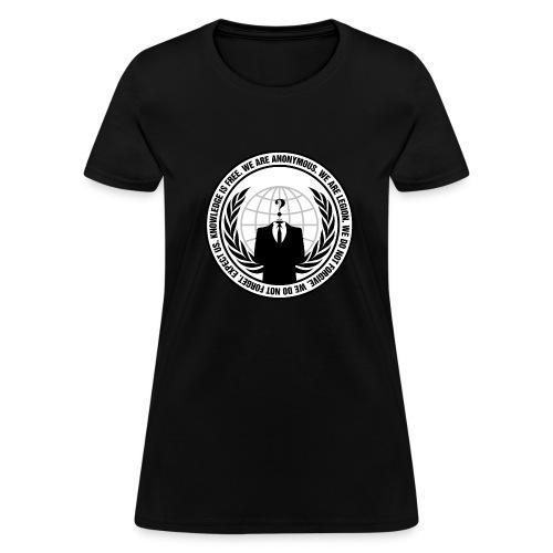 We Are Anonymous - WOMEN - Women's T-Shirt