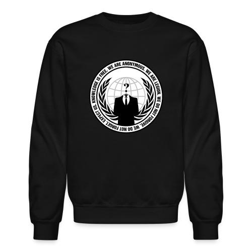 We Are Anonymous - MEN - Crewneck Sweatshirt