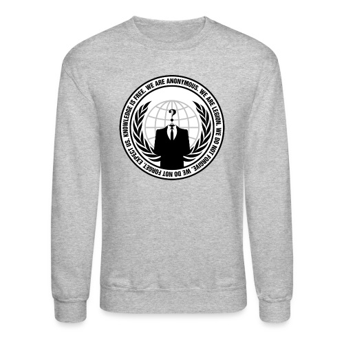 We Are Anonymous - MEN - Crewneck Sweatshirt